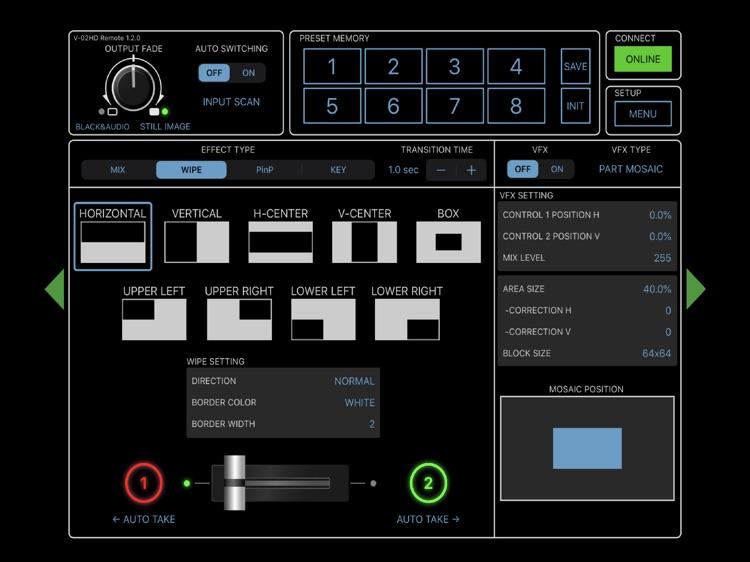 V-02HD Remote