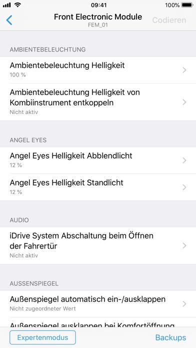 BimmerCode für BMW und MiniScreenshot von 3