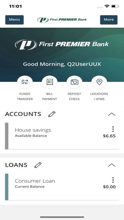 First PREMIER Mobile Banking screenshot-2