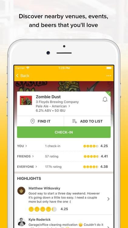 Untappd - Discover Beer screenshot-5