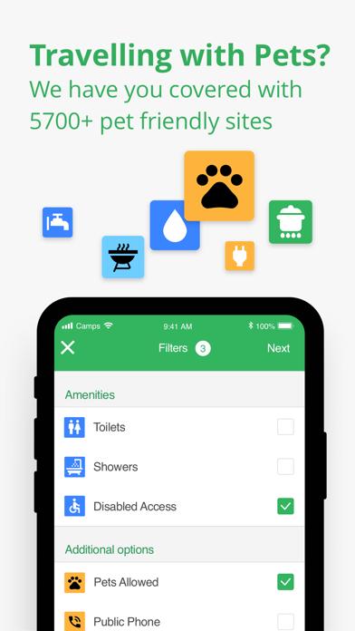 Screenshot for Camps Australia Wide GPS Guide in Australia App Store