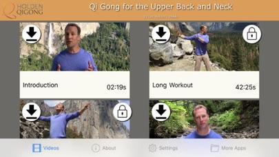 Qi Gong for Upper Back & Neck screenshot one