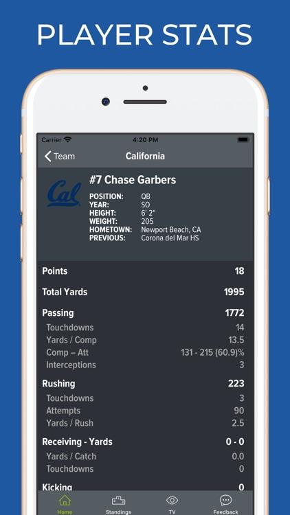 California Cal Football App screenshot-3