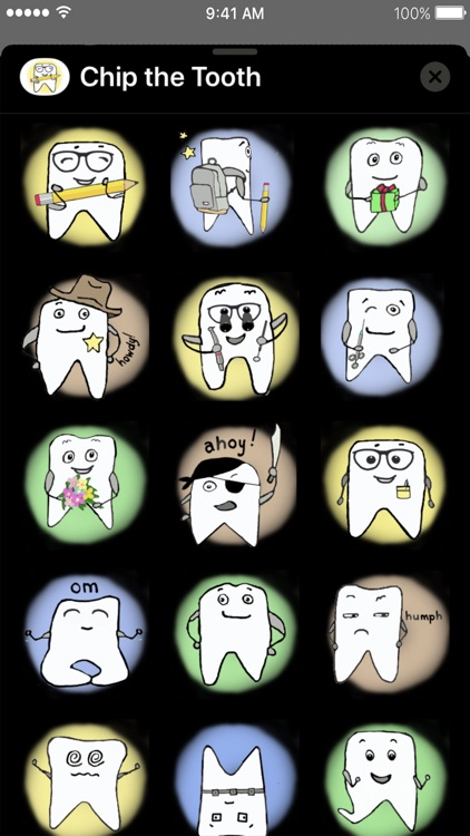 Chip the Tooth cute stickers screenshot-6