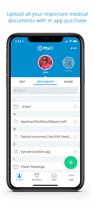 Myid Medical Id Profile On The App Store
