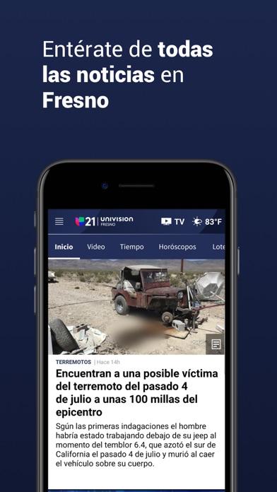Univision 21 Fresno screenshot 3