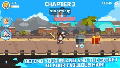 Hair Dash-Hero Battle screenshot 1