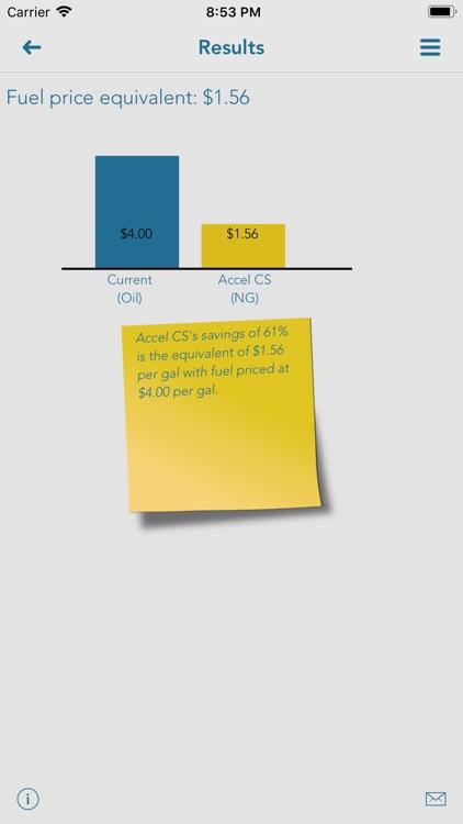 SmartHeat savings estimates screenshot-3