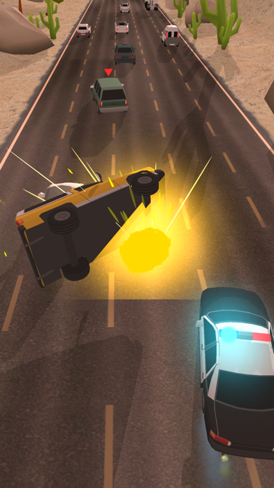 Police Chase - Hot Highways screenshot 6