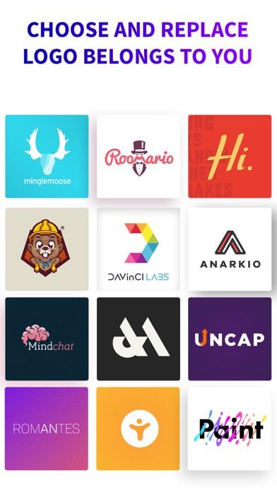 Screen Shot Logo Maker + Logo Creator 0