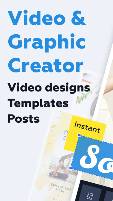 Crello Video & Graphic Creator screenshot