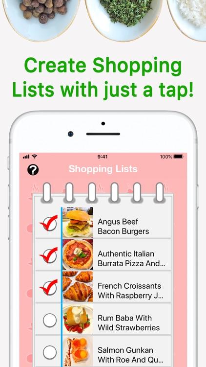 Recipe Selfie Cooking App screenshot-7