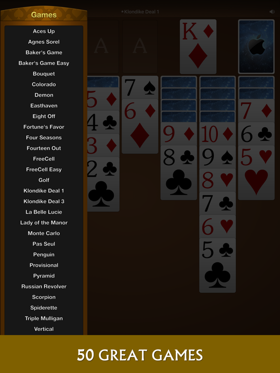 Solebon Solitaire – 50 Card Games screenshot