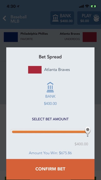 Sportsbook AG: Sports Betting Screenshot