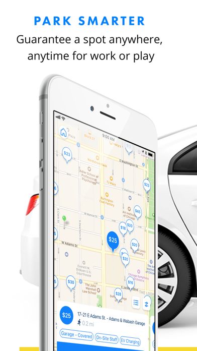 Screenshot for SpotHero: #1 Rated Parking App in United States App Store