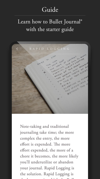 Bullet Journal Companion screenshot-5