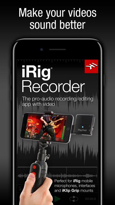 Screenshot #1 pour iRig Recorder LE