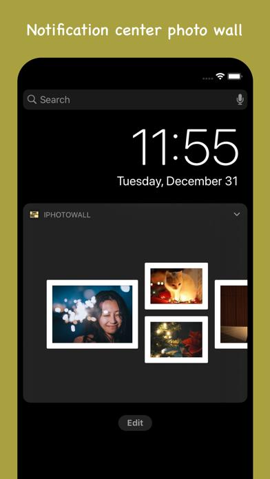 IPhotoWall - photo widget Screenshots