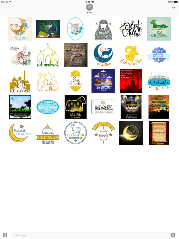 Eid al-Adha Islam Sticker screenshot 5