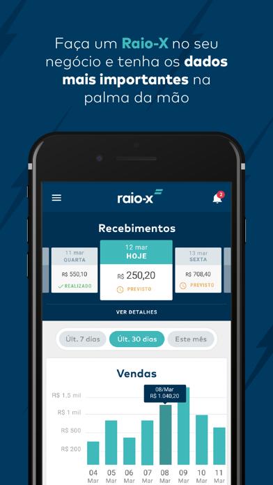Raio-X   Controle de Vendas screenshot two