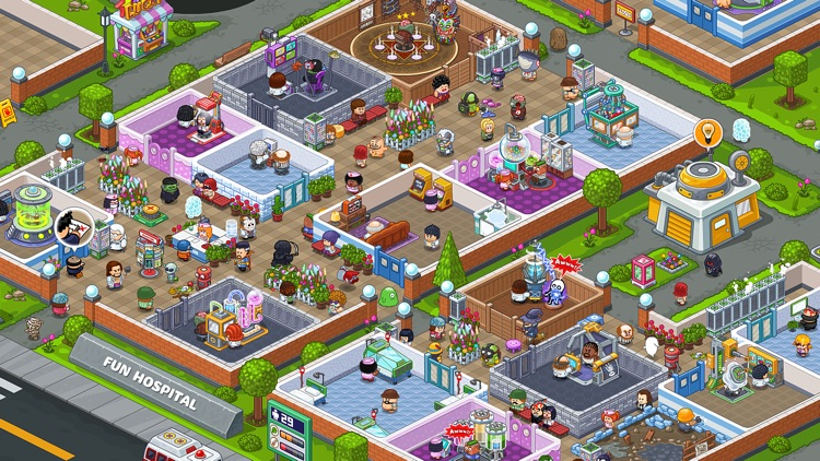 Fun Hospital - tycoon games by OrangesGame Technology Limited