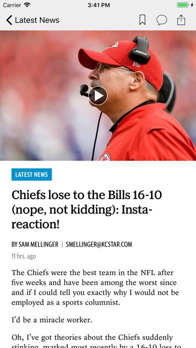 The Wichita Eagle News Screenshot