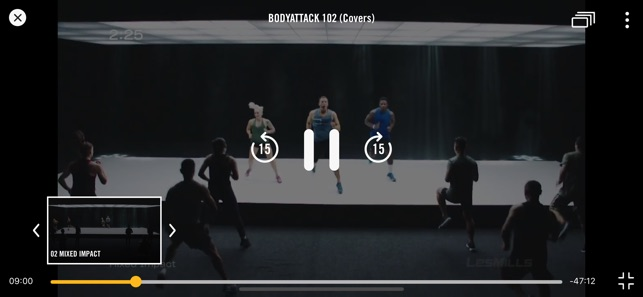 Les Mills Releases on the App Store