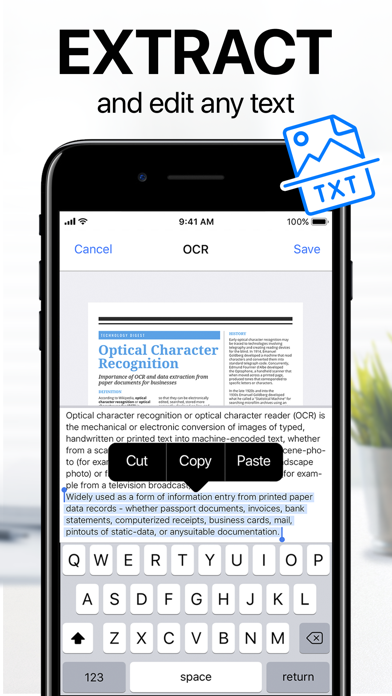 Scanner App: PDF Document Scan Screenshot