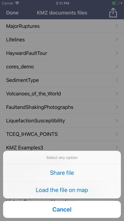 KMZ Viewer-Converter screenshot-9
