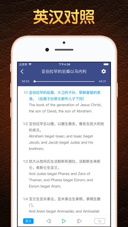语音圣经 - Standard Bible screenshot-3