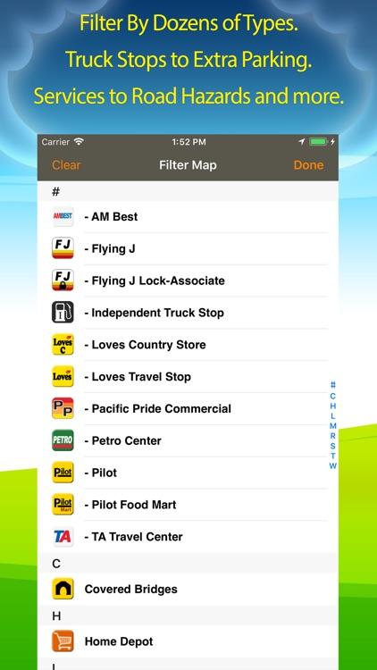 Truck Stops & Travel Plazas screenshot-4
