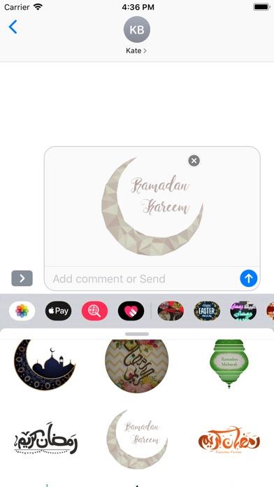 Ramadan Mubarak Stickers HD screenshot #3