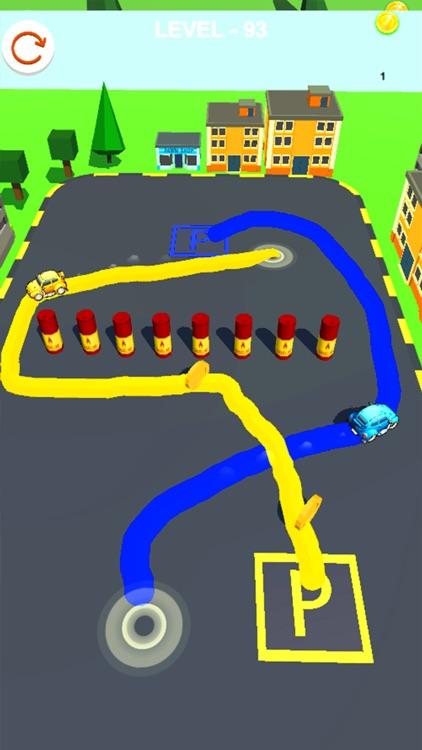 Parking Master 3D - Draw Road screenshot-3