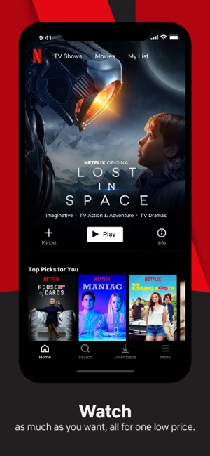 netflix download movies to phone
