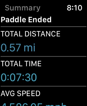 Paddle Logger Screenshot