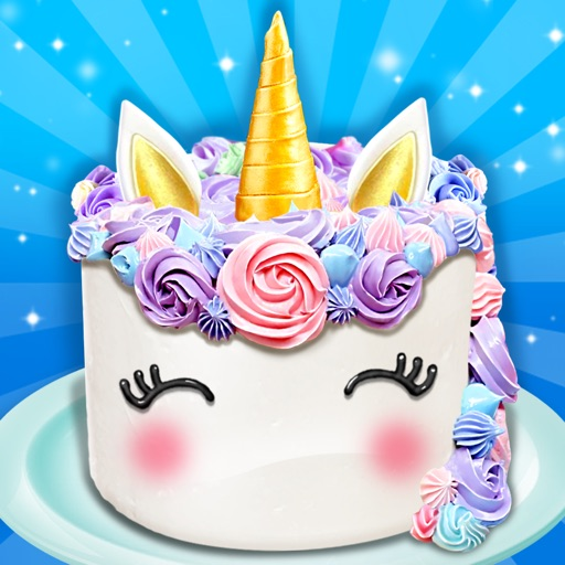 Unicorn Food - Rainbow Cake