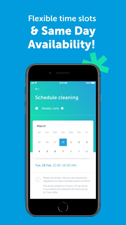 MATIC - Home Cleaning Service screenshot-3