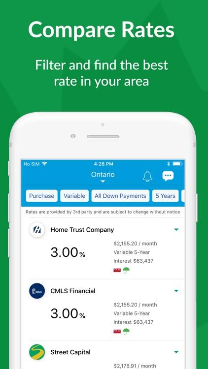 Canadian Mortgage App screenshot-3