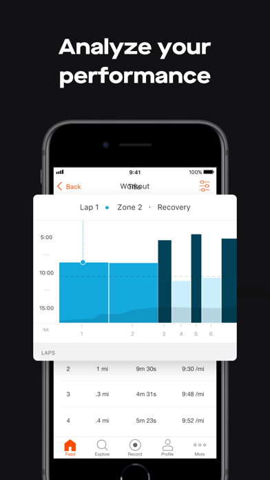 Screenshot for Strava: Run & Ride Training in Romania App Store