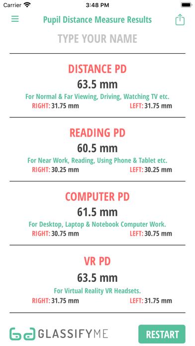Pupil Distance PD Measureのおすすめ画像6