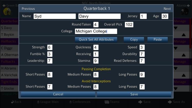 Pro Strategy Football 2020 screenshot-5