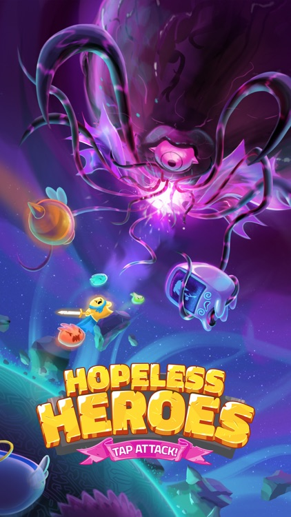 Hopeless Heroes: Tap Attack screenshot-3