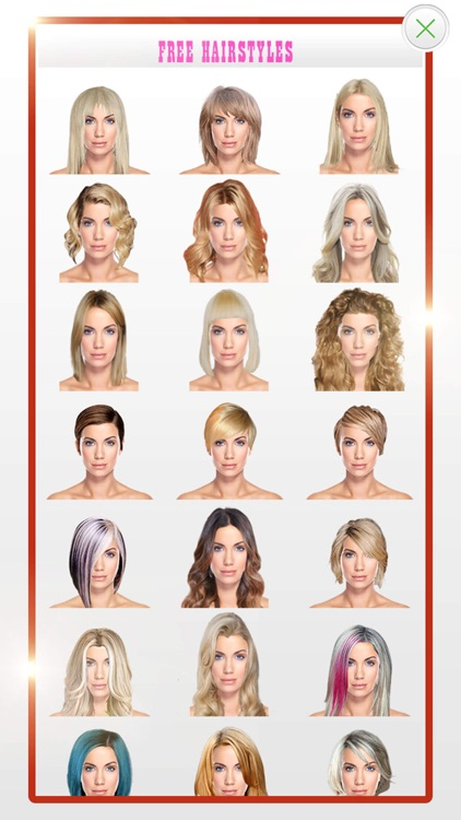 Blonde Hairstyles screenshot-3
