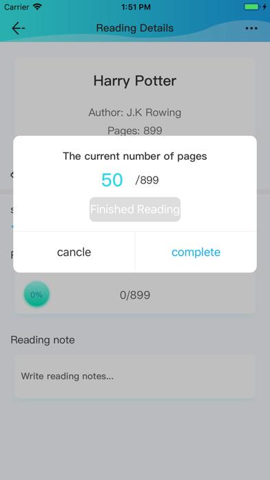 Reading Record screenshot #6