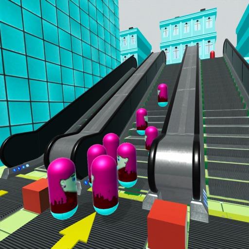 Escalator Mob