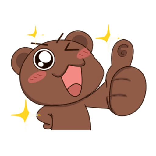 Chocolate Bear - Animated icon