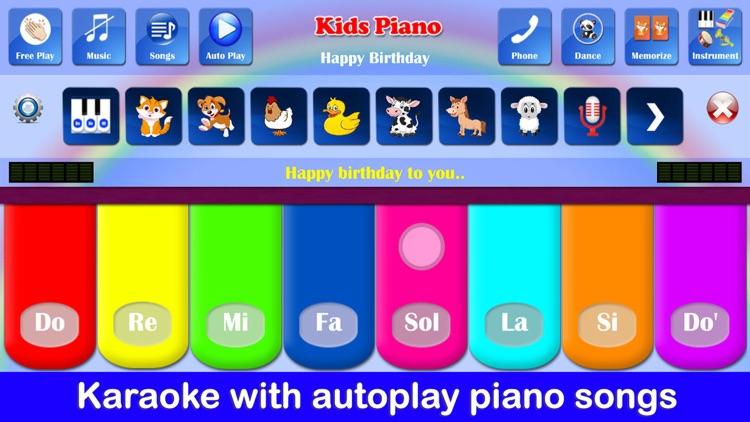 Kids Piano Animals screenshot-5