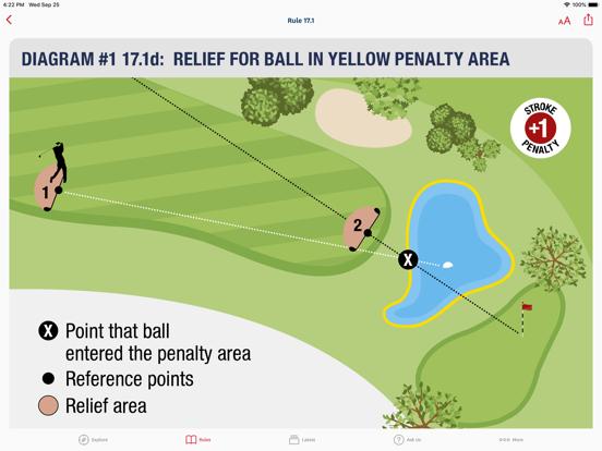 The Rules of Golf screenshot