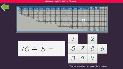 Montessori Division Charts screenshot 7