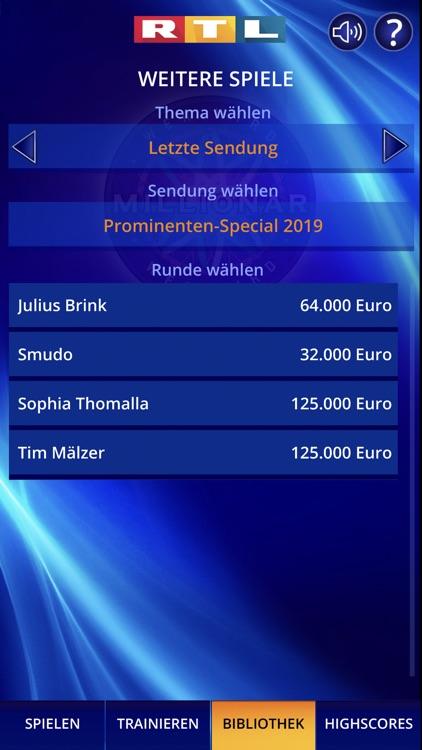 Wer wird Millionär? Training screenshot-8